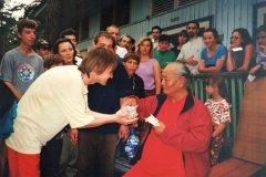 Ретрит с Намкаем Норбу Ринпоче в 1999г.
